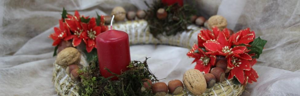 Wystawa stroików Bożonarodzeniowych